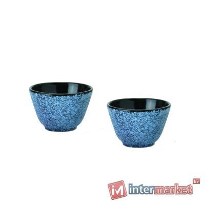 Набор чашек для чая чугунных BergHOFF синие, 2 шт (1107057)