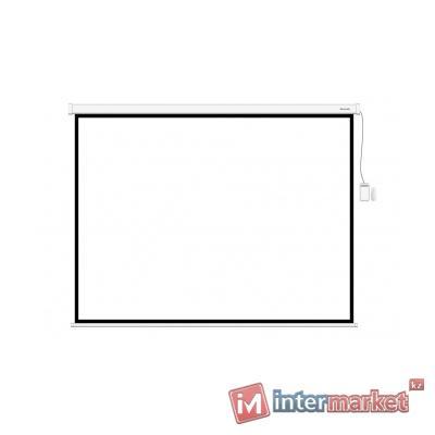 Экран, Deluxe, DLS-M265x149W, Настенный/потолочный, Раб. поверхность 257x141, 16:9, Matt white, Белый