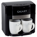 Кофеварка электрическая, белая Galaxy GL 0708