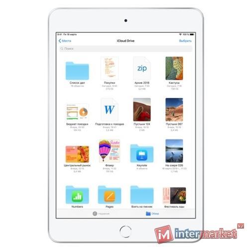 Планшет Apple iPad mini (2019) 256Gb Wi-Fi Silver