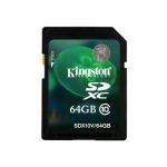 Карта памяти Kingston Class 10 SDXC 64GB