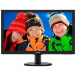 "Монитор Philips 243V5QSBA/01, LCD 23.6"" 1920x1080 MVA (LED), 8ms, 250cd/m2, 3000:1, D-Sub, Черный"