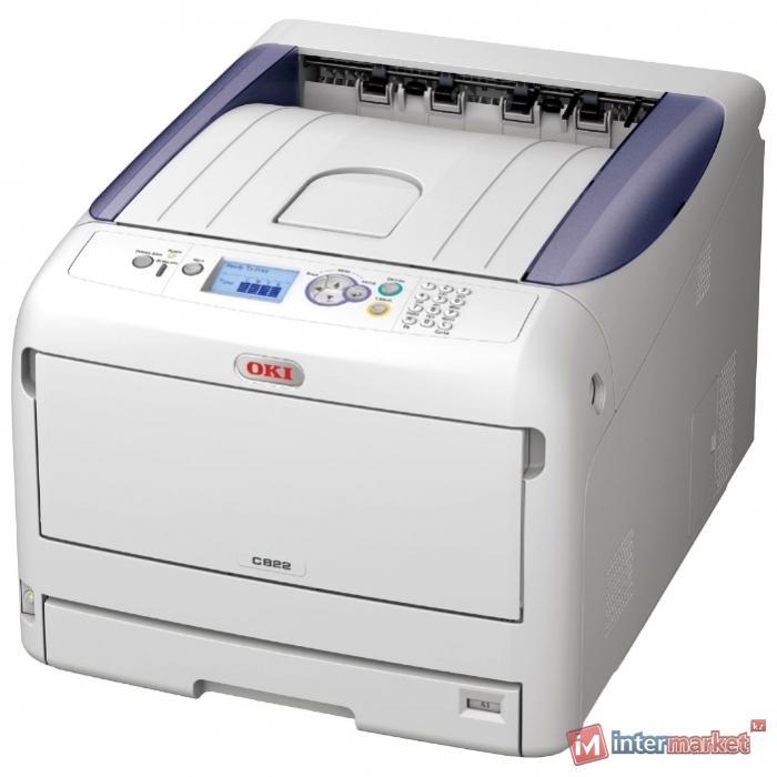 Принтер OKI C822dn