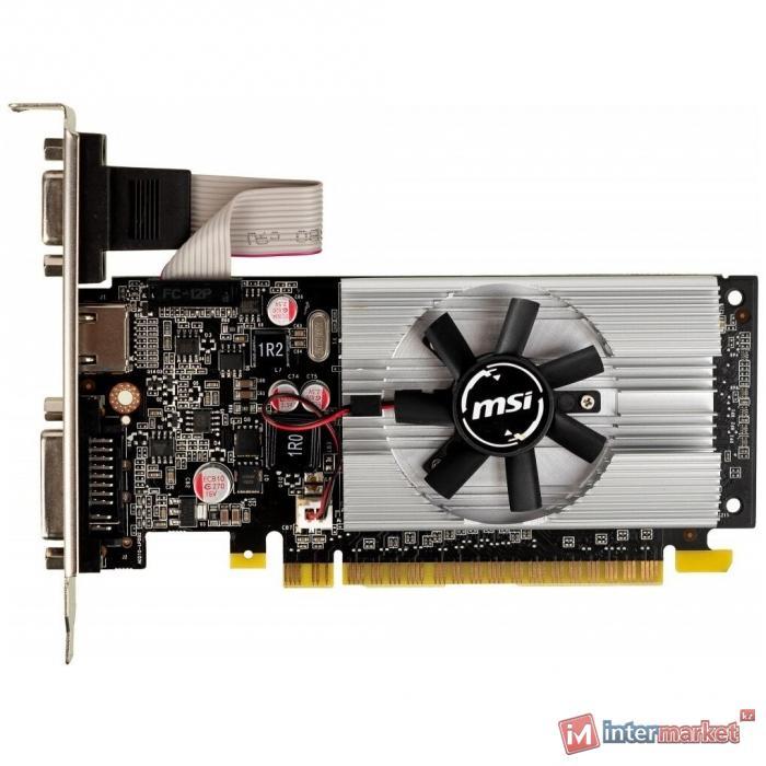 Видеокарта MSI GeForce 210, 1GB DDR3 64-bit 1xVGA 1xDVI 1xHDMI N210-1GD3/LP